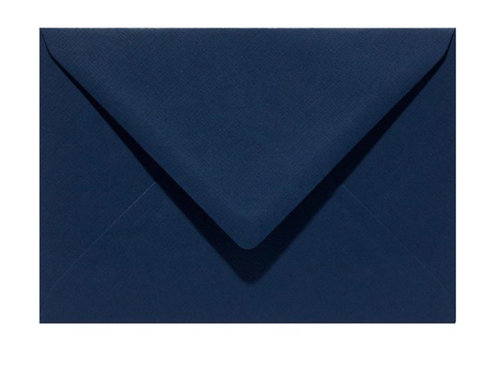 Letters and Lines envelop blauw