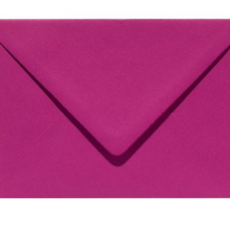 Letters and Lines envelop fuxia