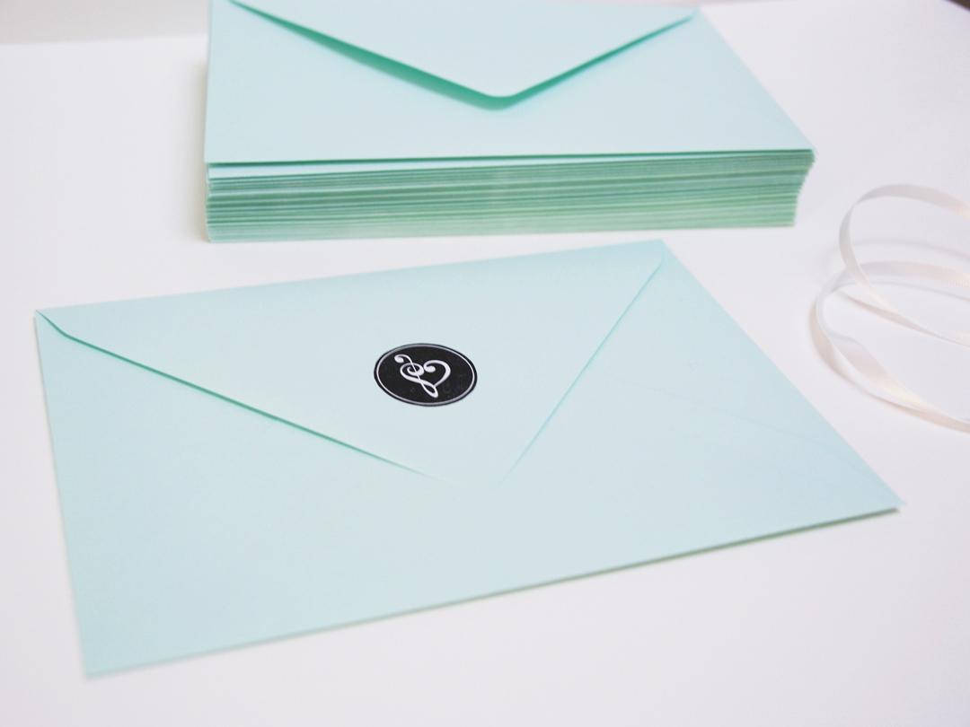 Trouwkaart enveloppen